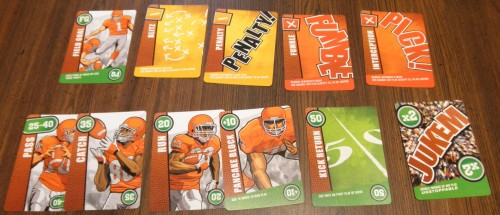 Jukem Football Game Cards