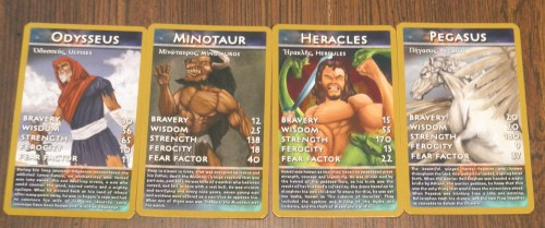 Top Trumps Greek Mythology Explanation