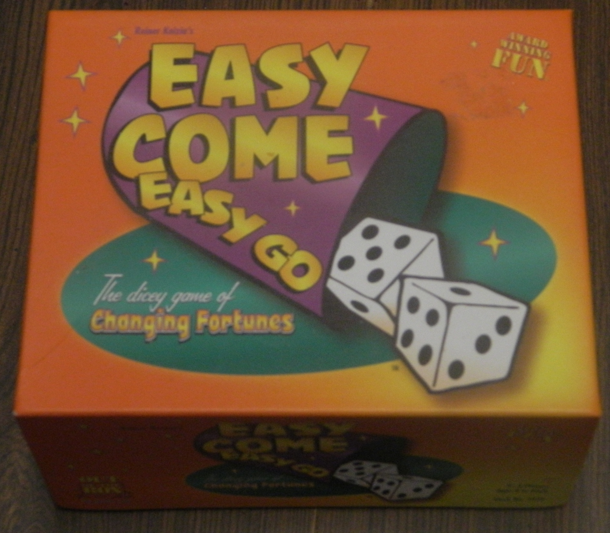 Easy Come Easy Go Box