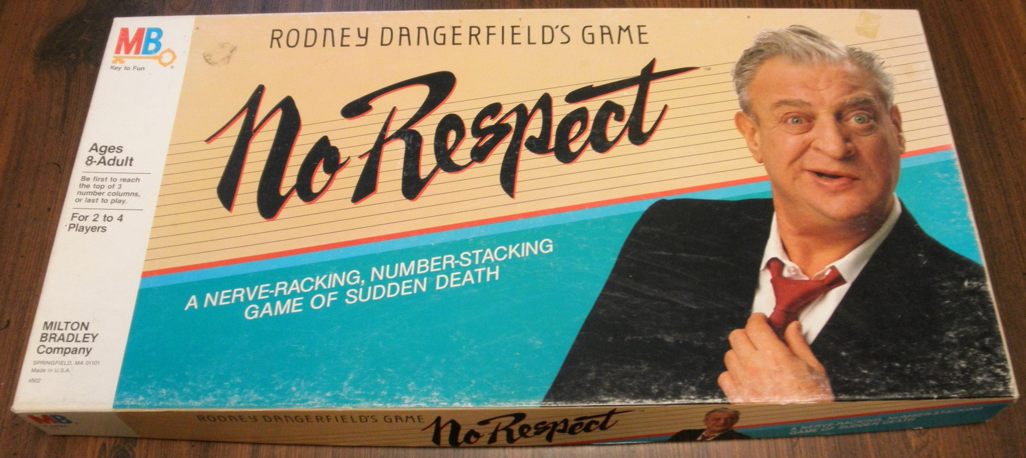 Rodney Dangerfield's Game No Respect Box