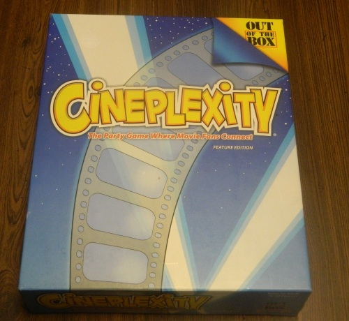 Cineplexity Party Game Box