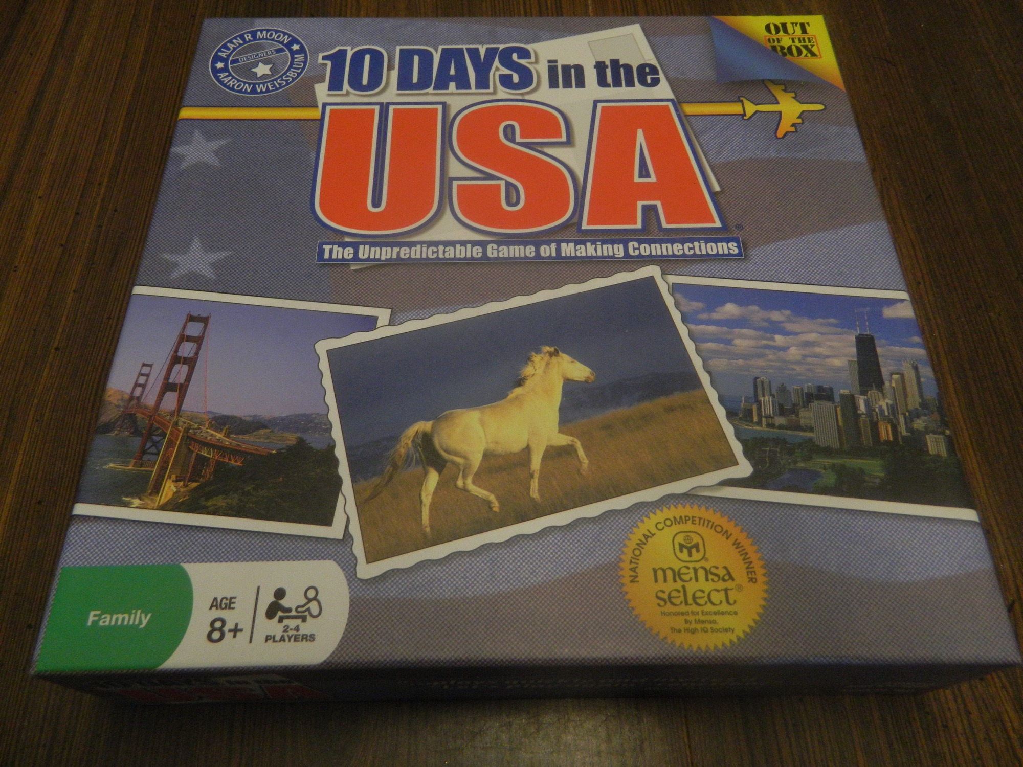 10 Days in the USA Box