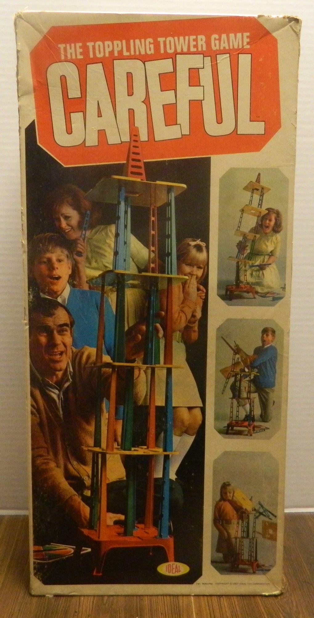 Careful The Toppling Tower Game Box