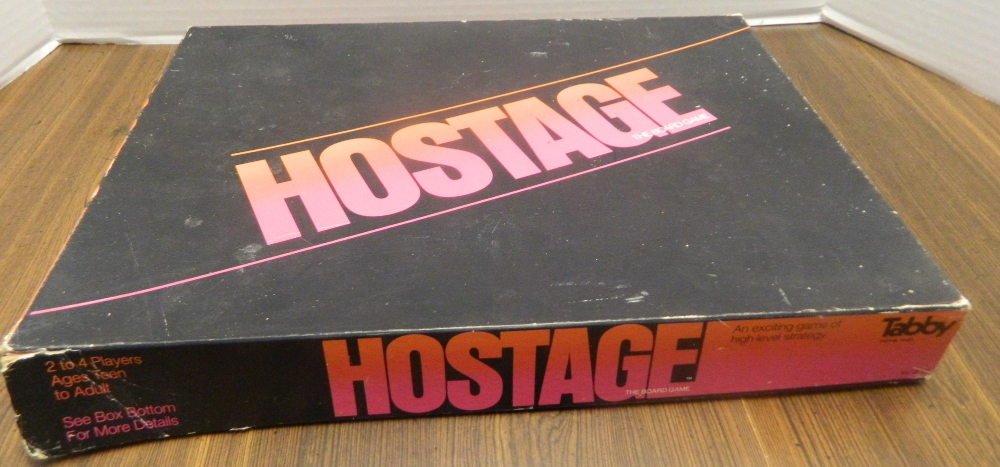 Hostage the Board Game Box