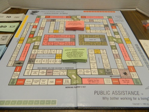 Public Assistance Gameboard