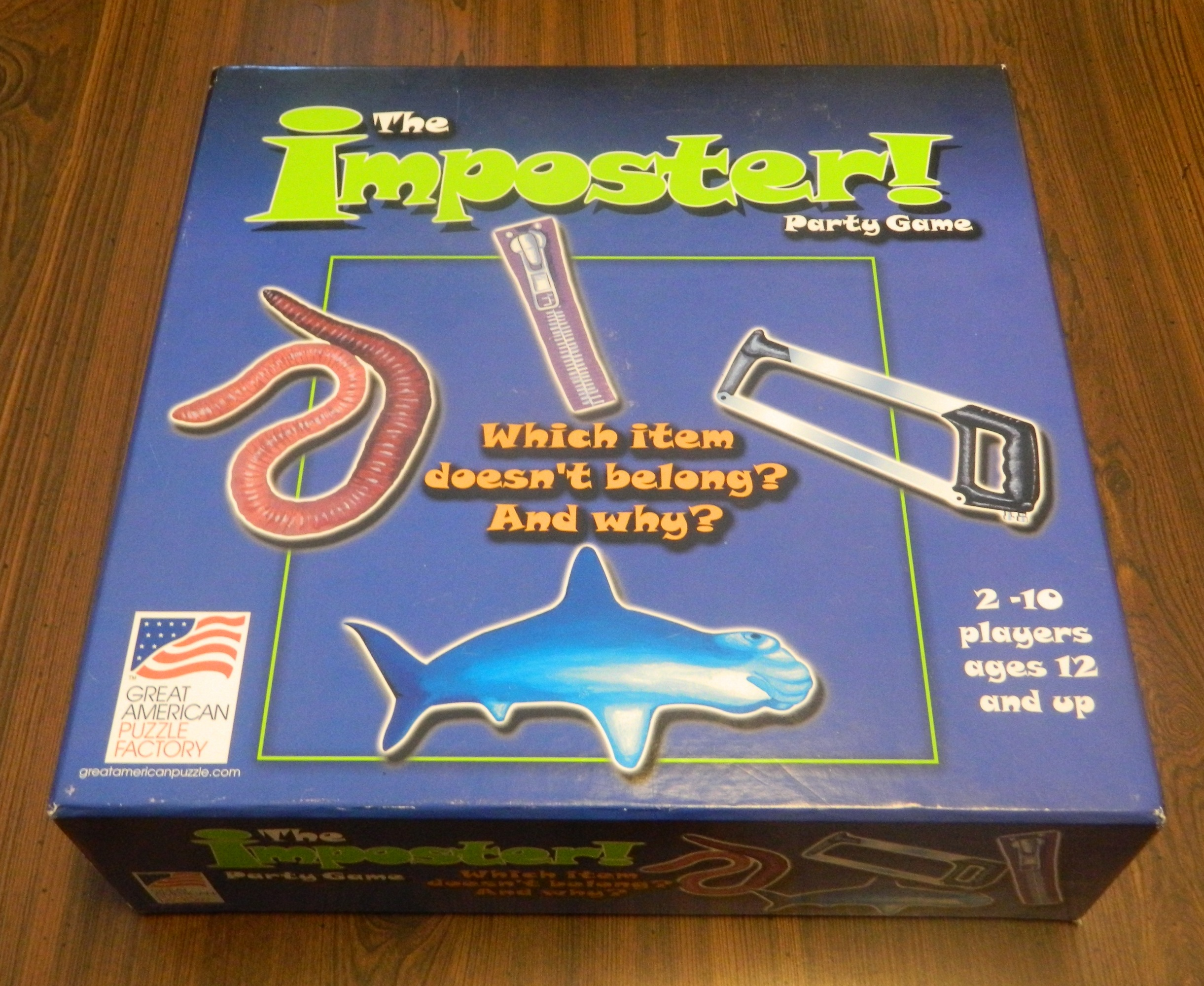 The Imposter Party Game Box