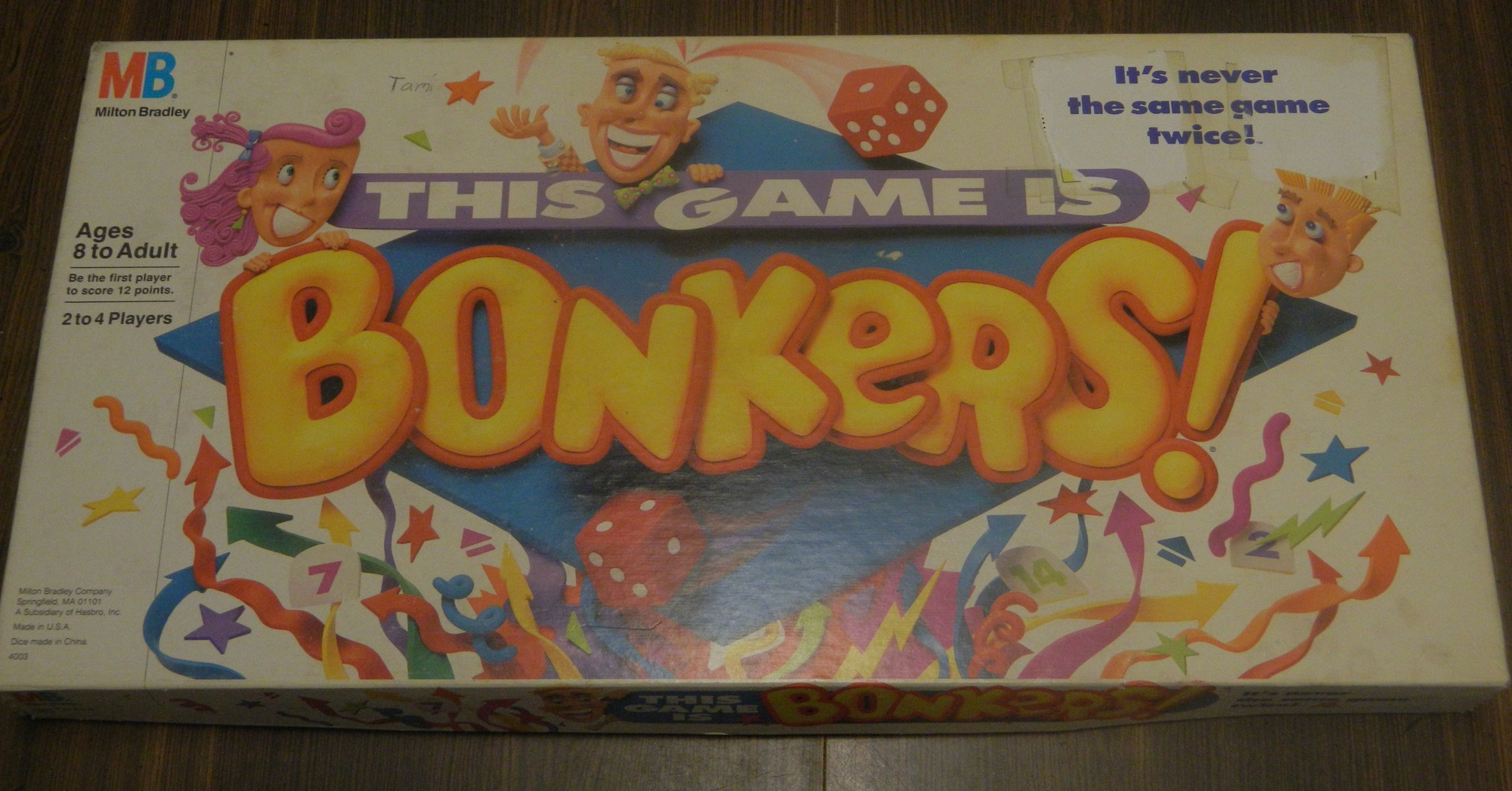 This Game is Bonkers Box