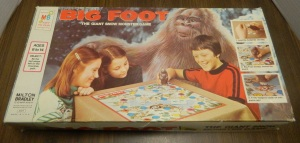 Thrift Store Haul November 24 2014 Big Foot Board Game