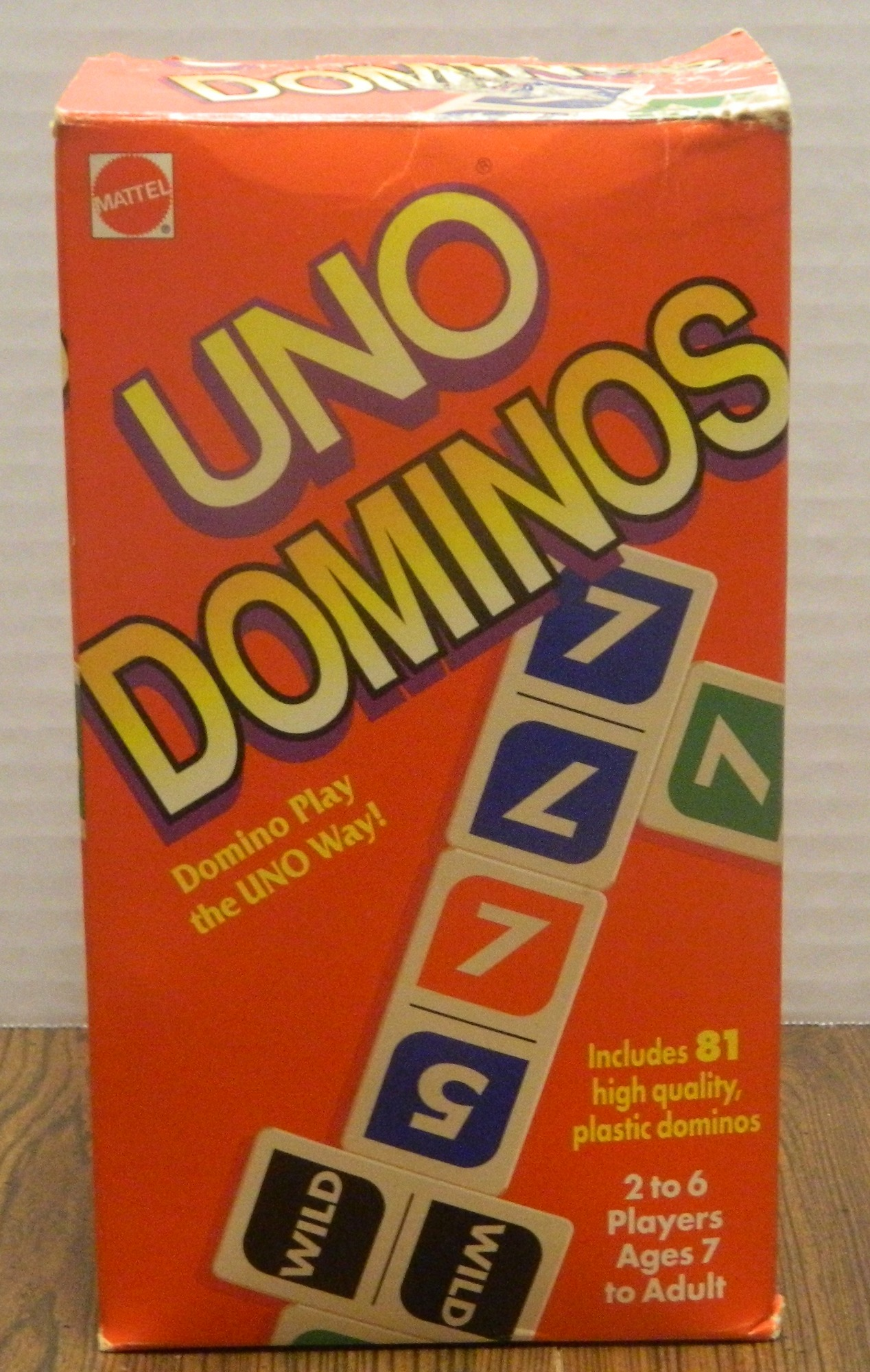 Uno Dominoes Box