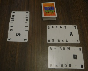 Word Madness Sample Hand