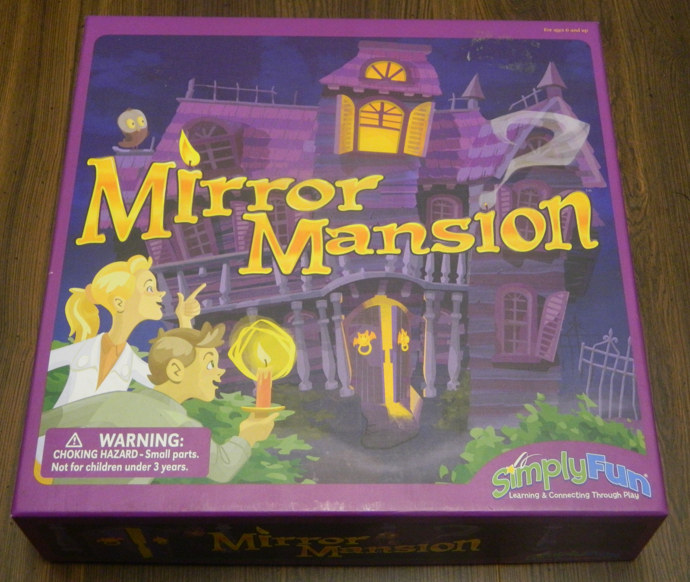 Mirror Mansion Board Game Box