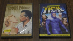 Thrift Store Finds - South Pacific and The Tick DVDs