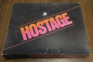 Thrift Store Finds - Hostage Board Game