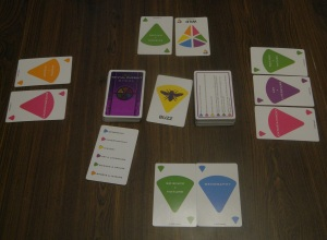 Trivial Pursuit Steal Card Game Sample Game