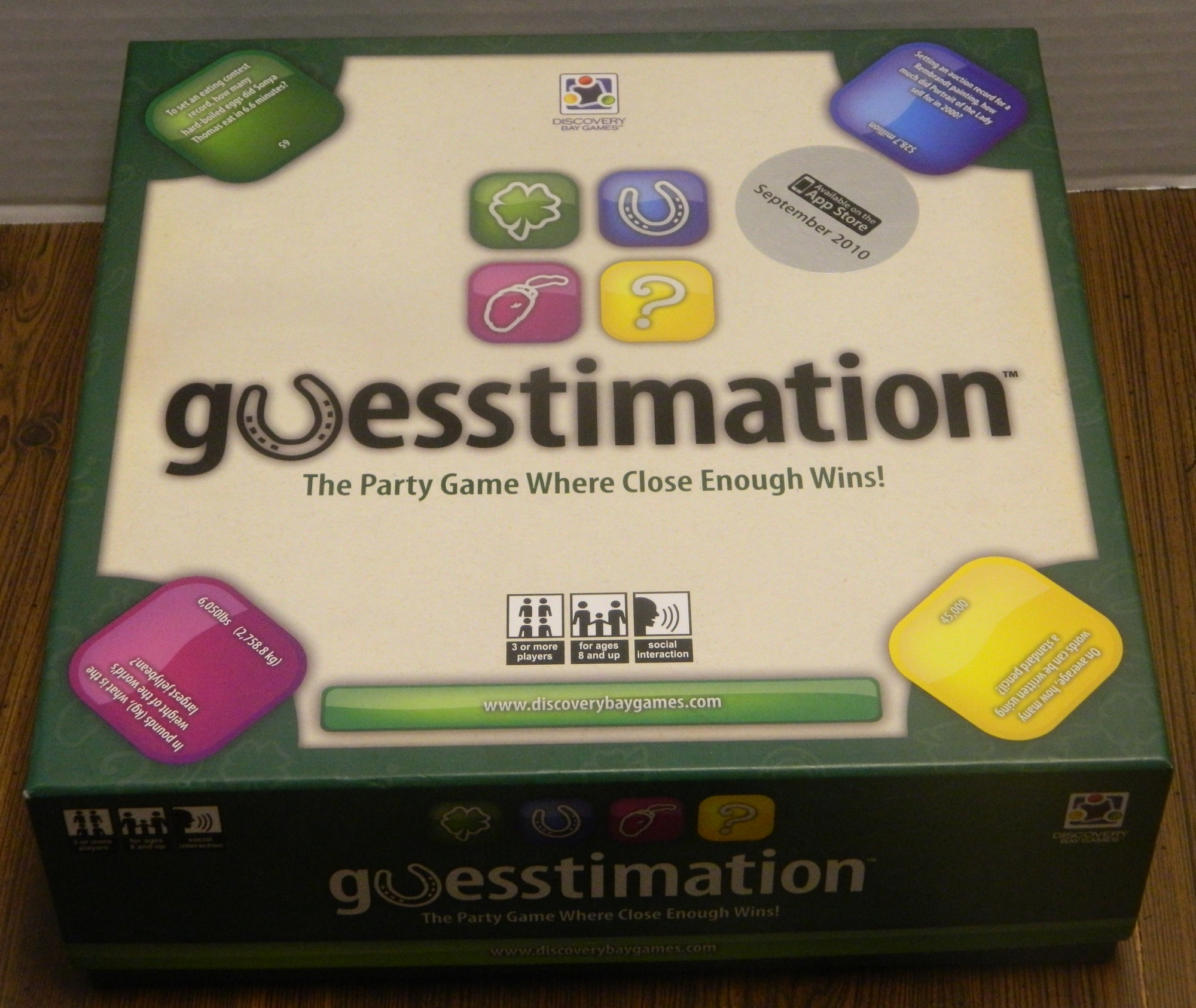 Guesstimation Box