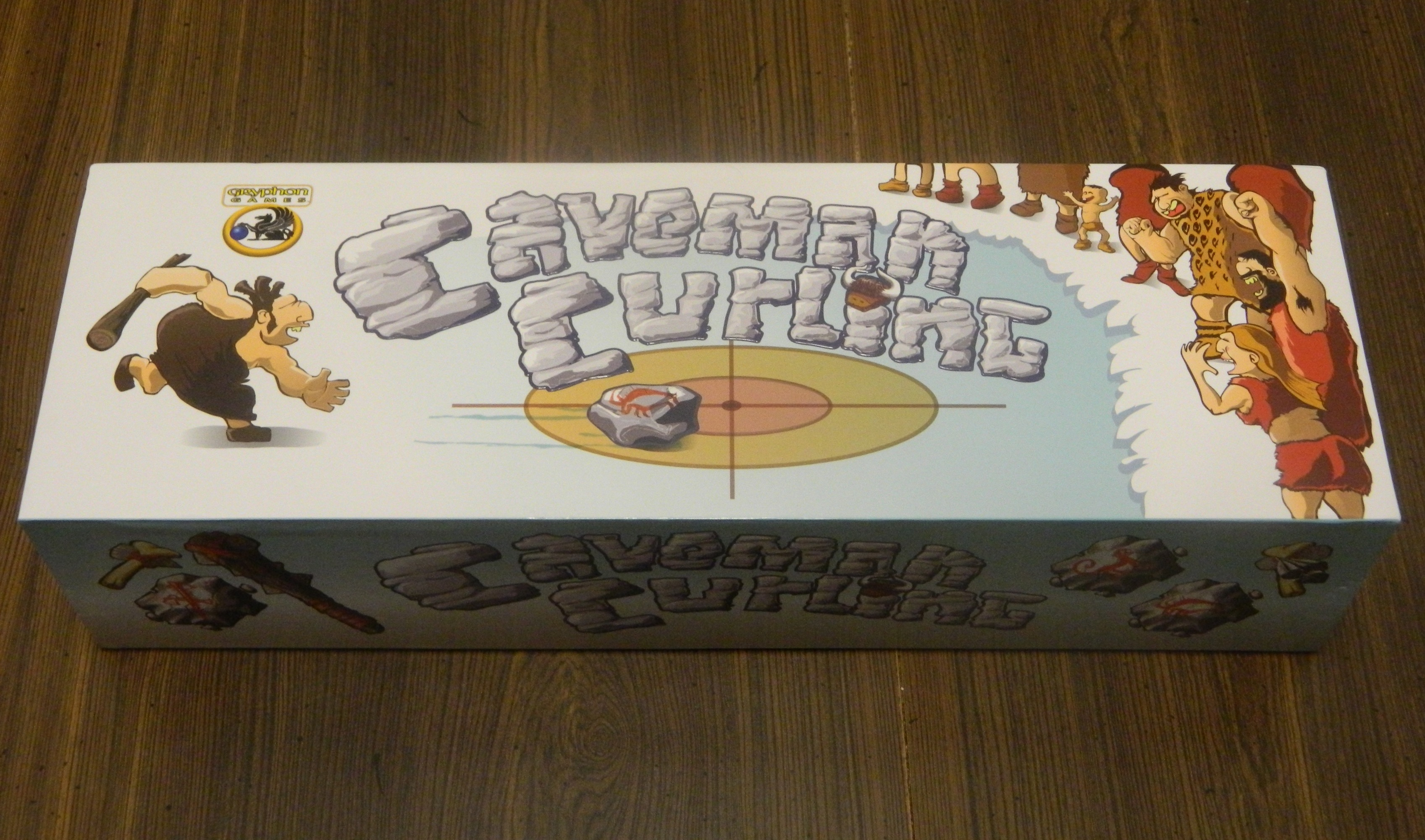 Caveman Curling Board Game Box