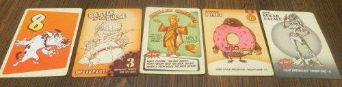 Food Fight Cards