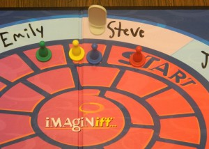 Imaginiff Party Game Moving Pawns