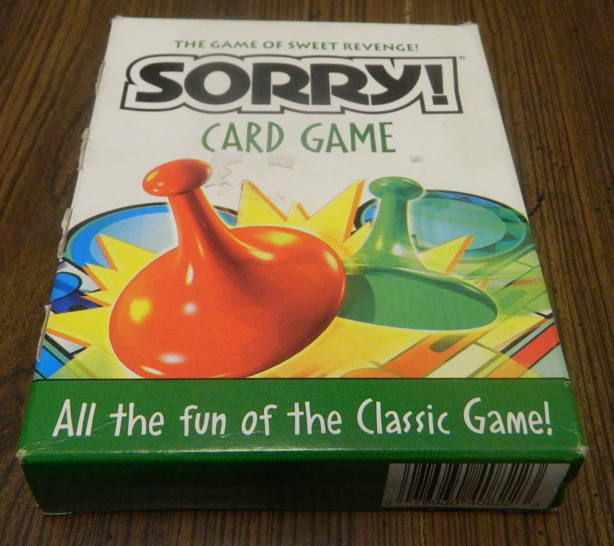 Sorry Card Game Box