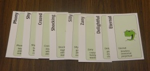 Apples to Apples Party Game End of Game