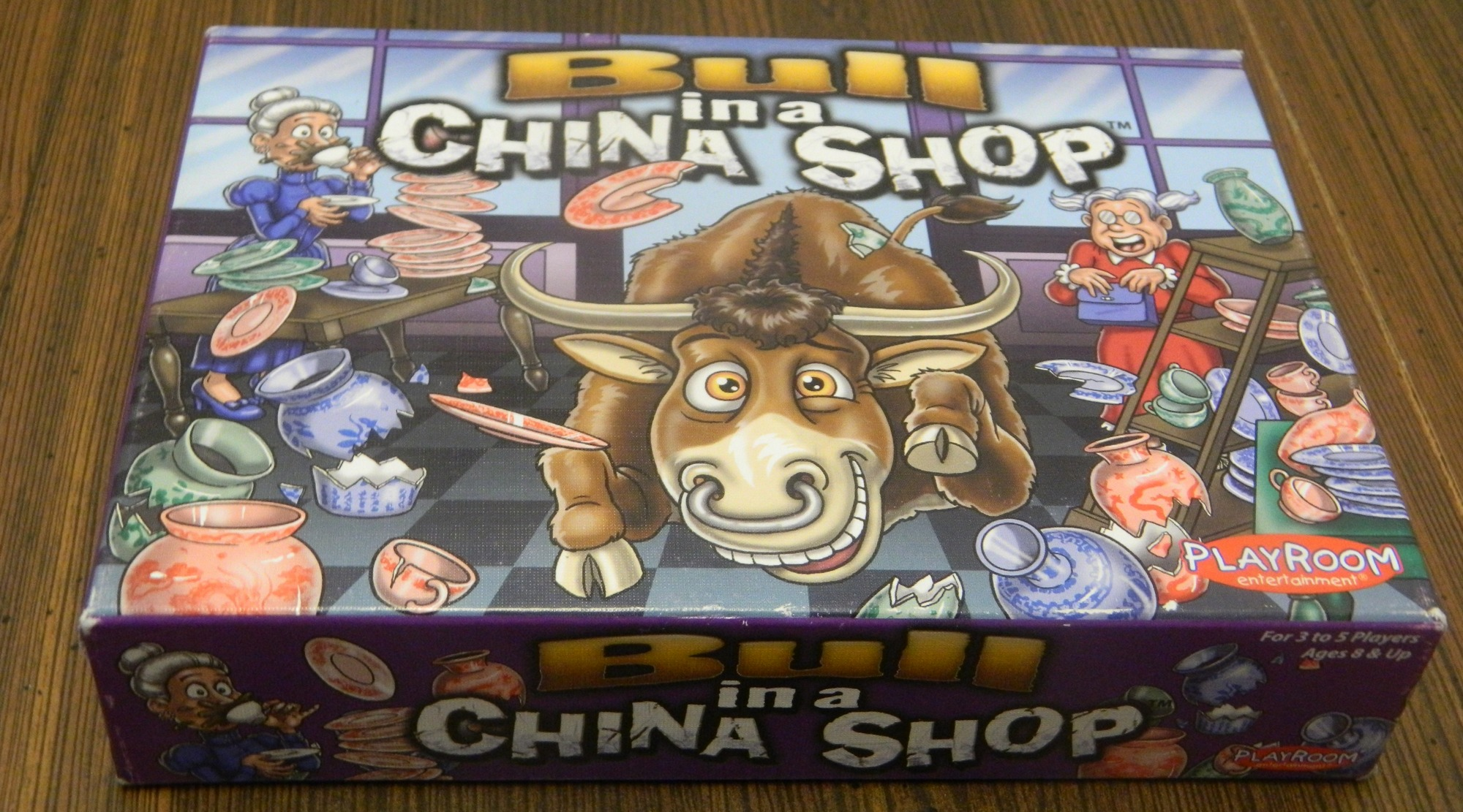 Bull in a China Shop Box