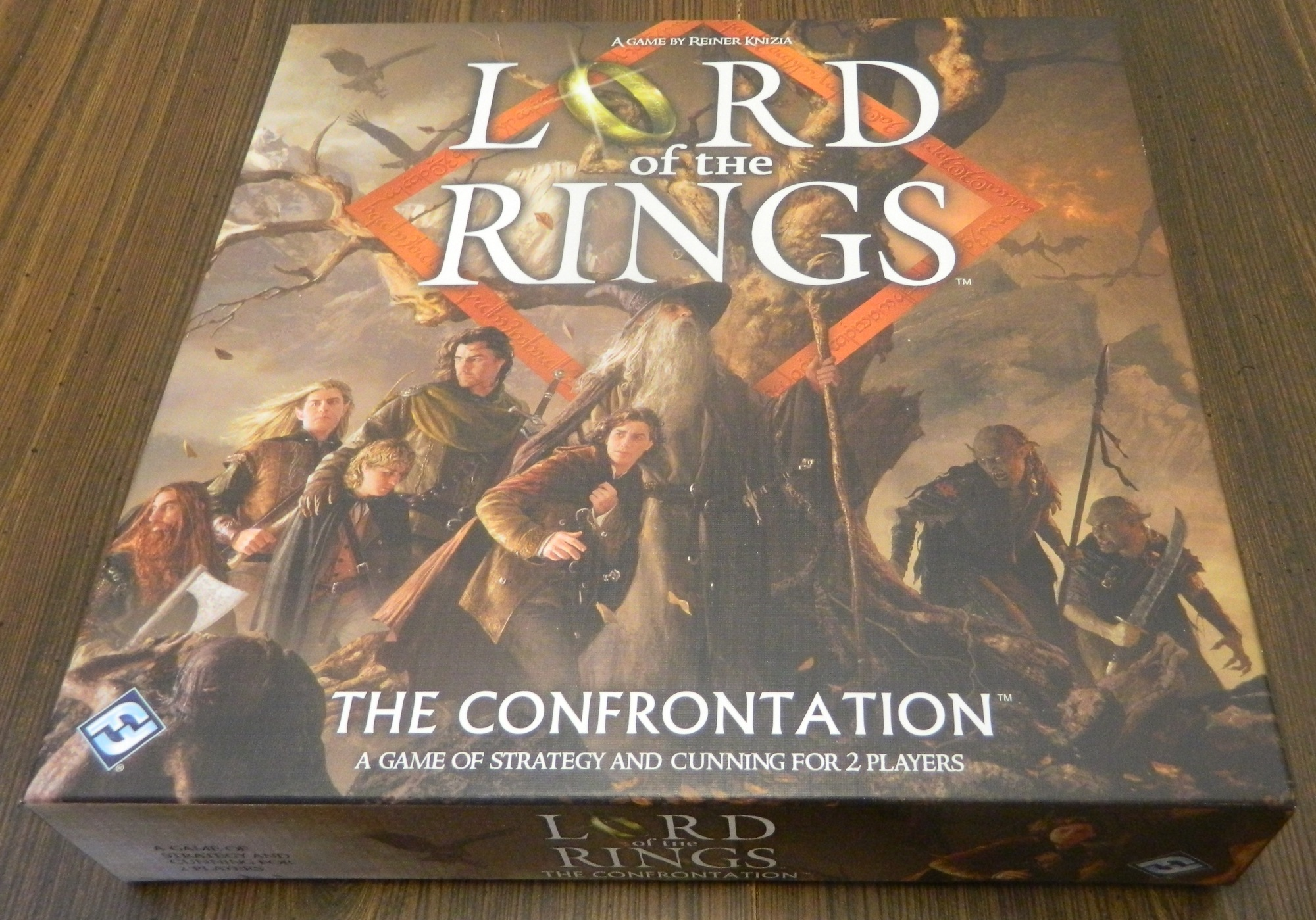 The Lord of the Rings The Confrontation Box