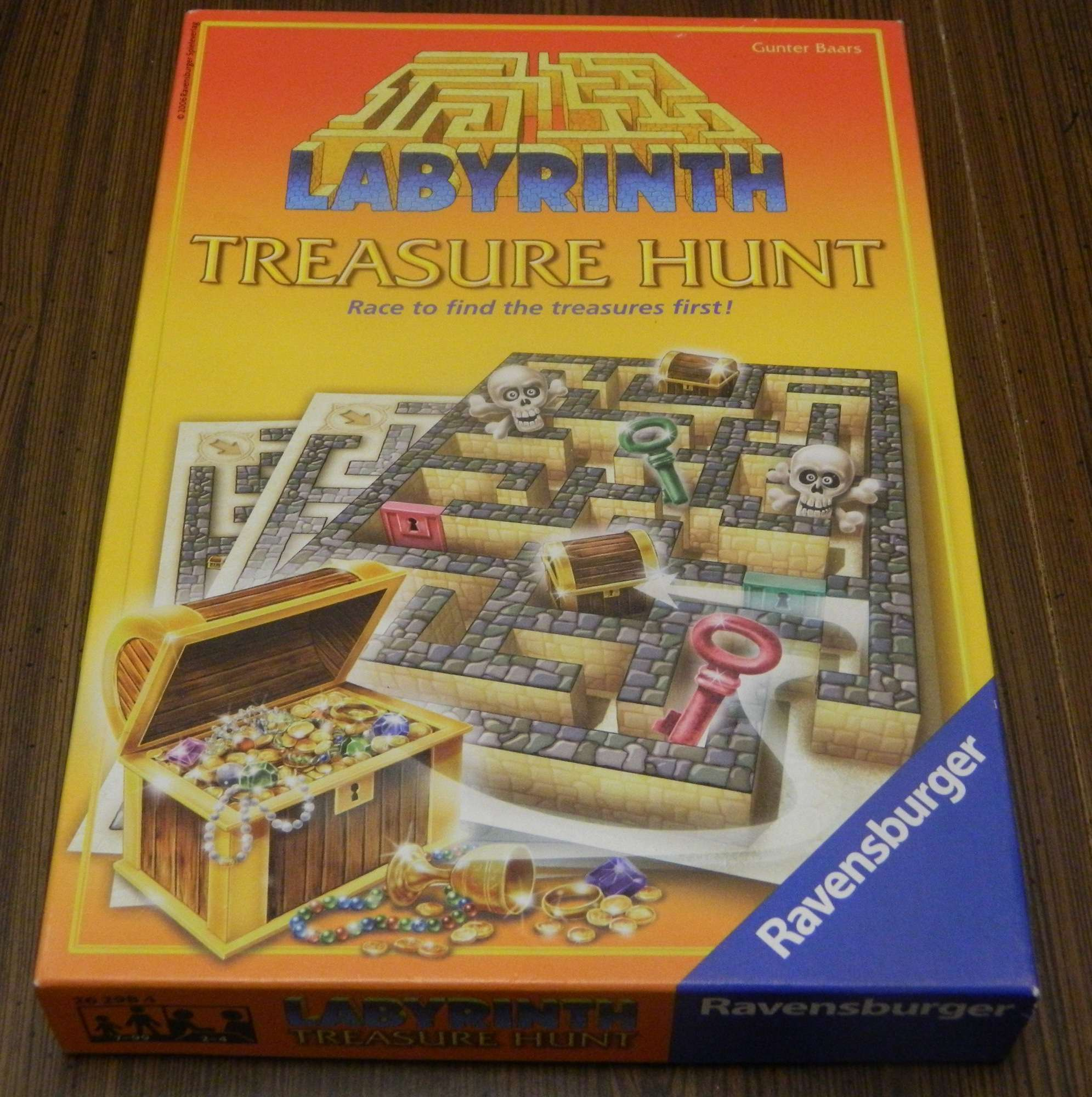 Labyrinth Treasure Hunt Box