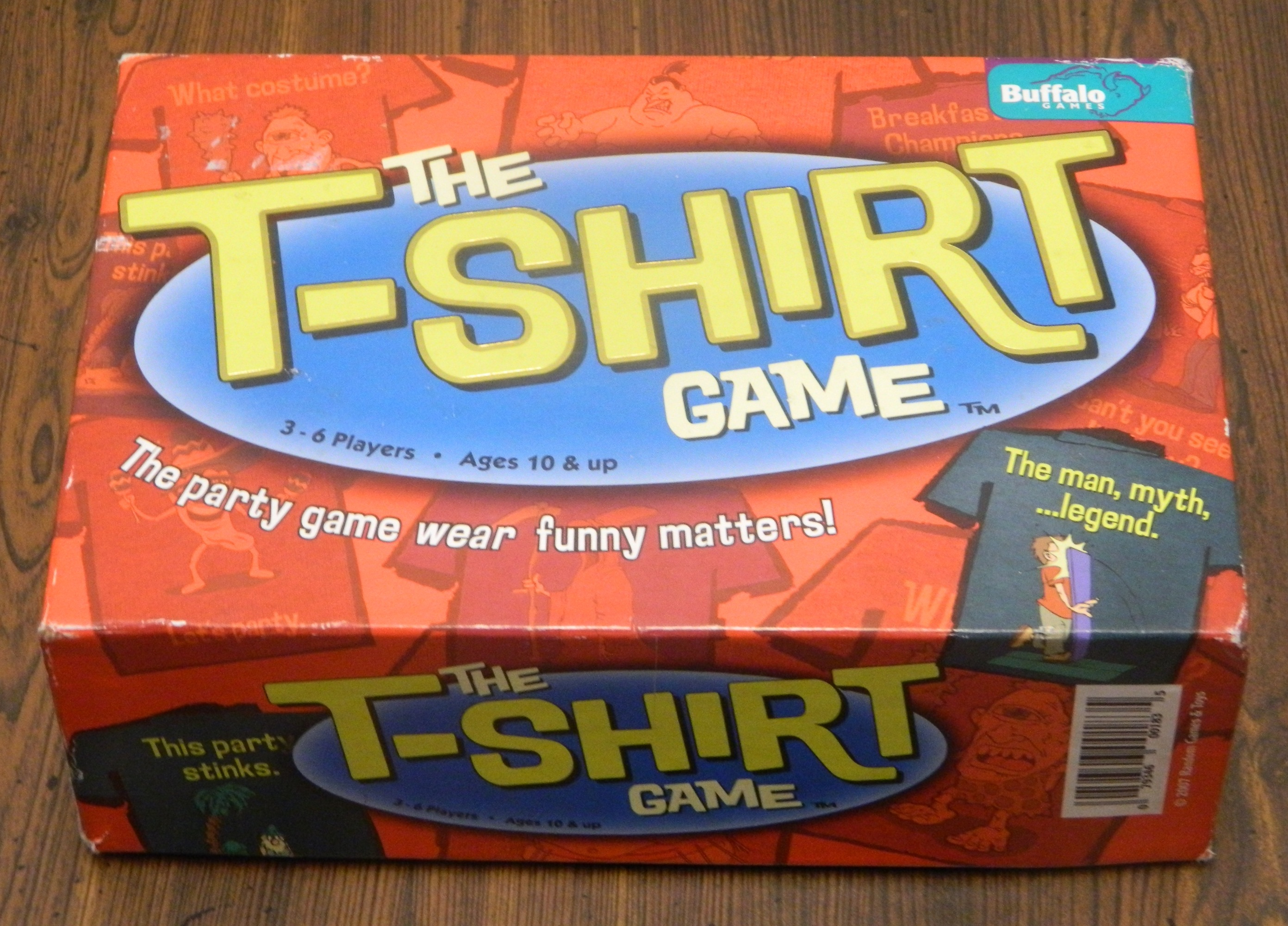 The T-Shirt Game Party Game Box