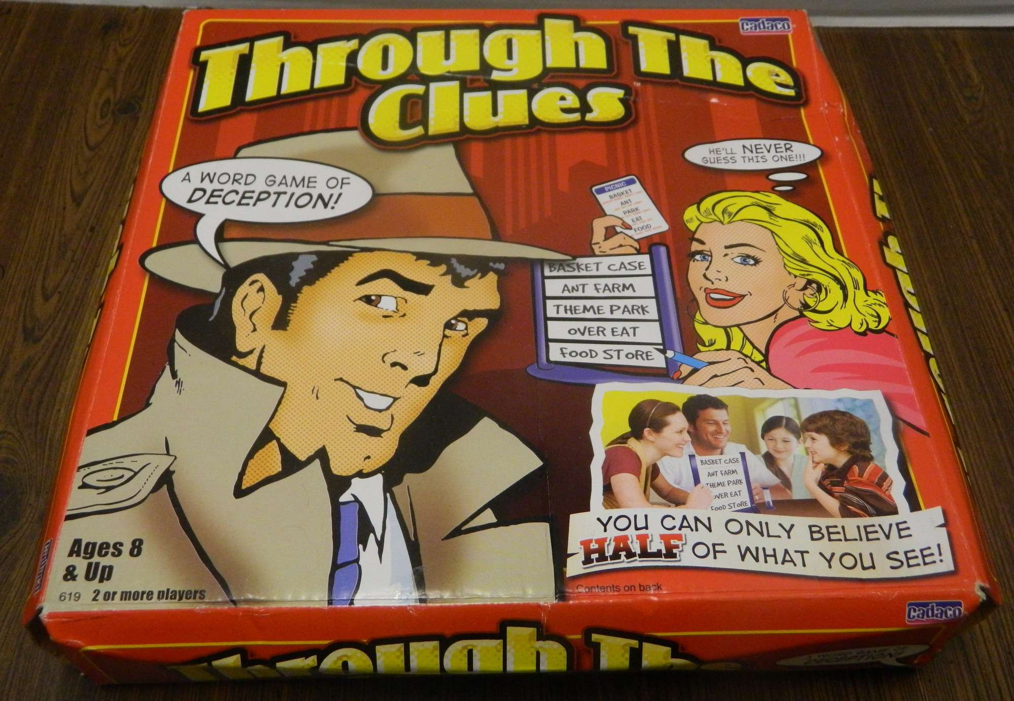 Through the Clues Box