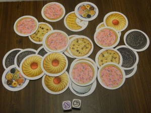 Toss Your Cookies Card Game All Toss