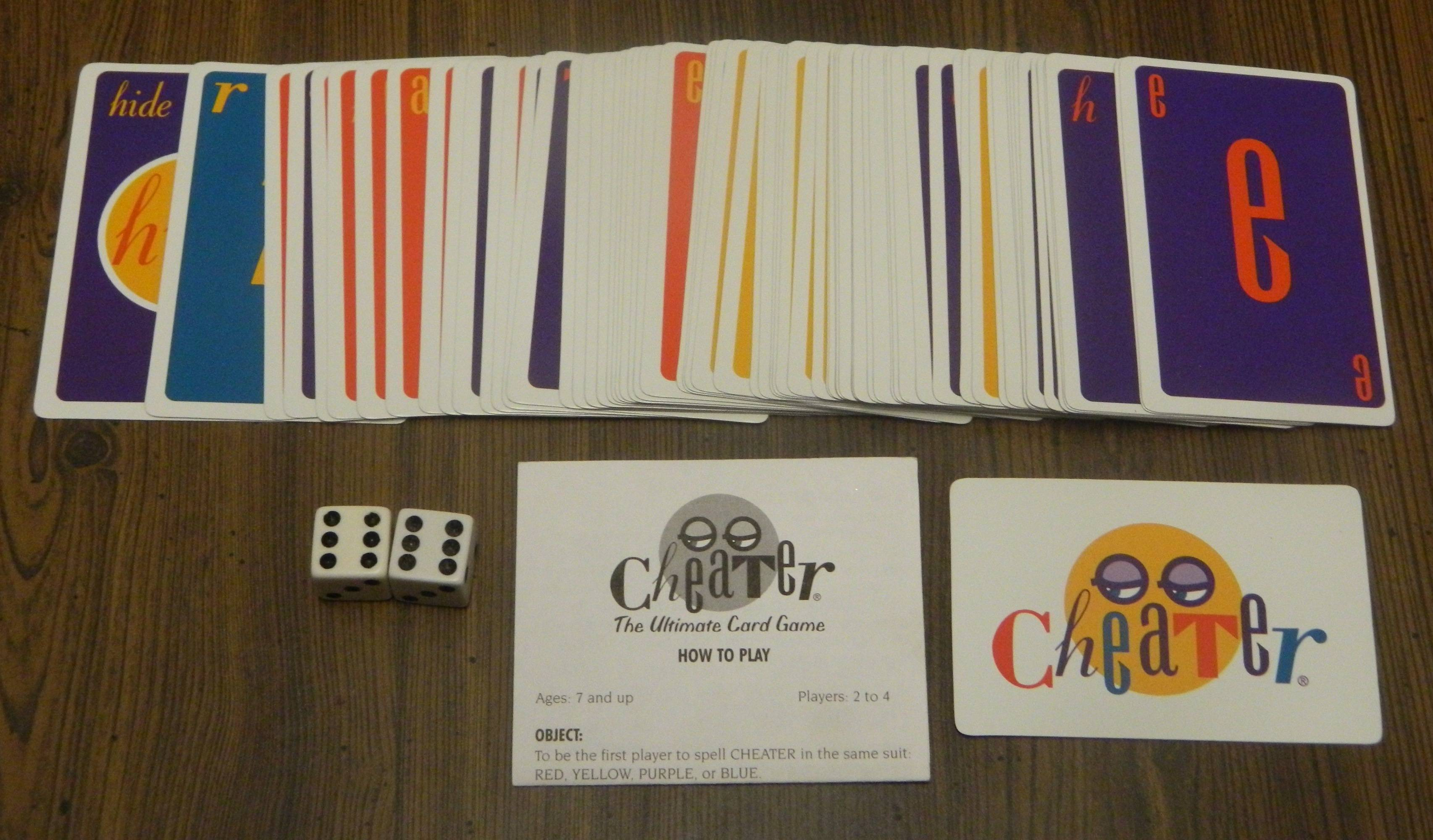 Cheater Card Game Review | Geeky Hobbies