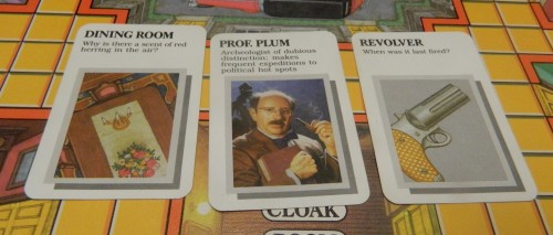Clue Master Detective Accusation