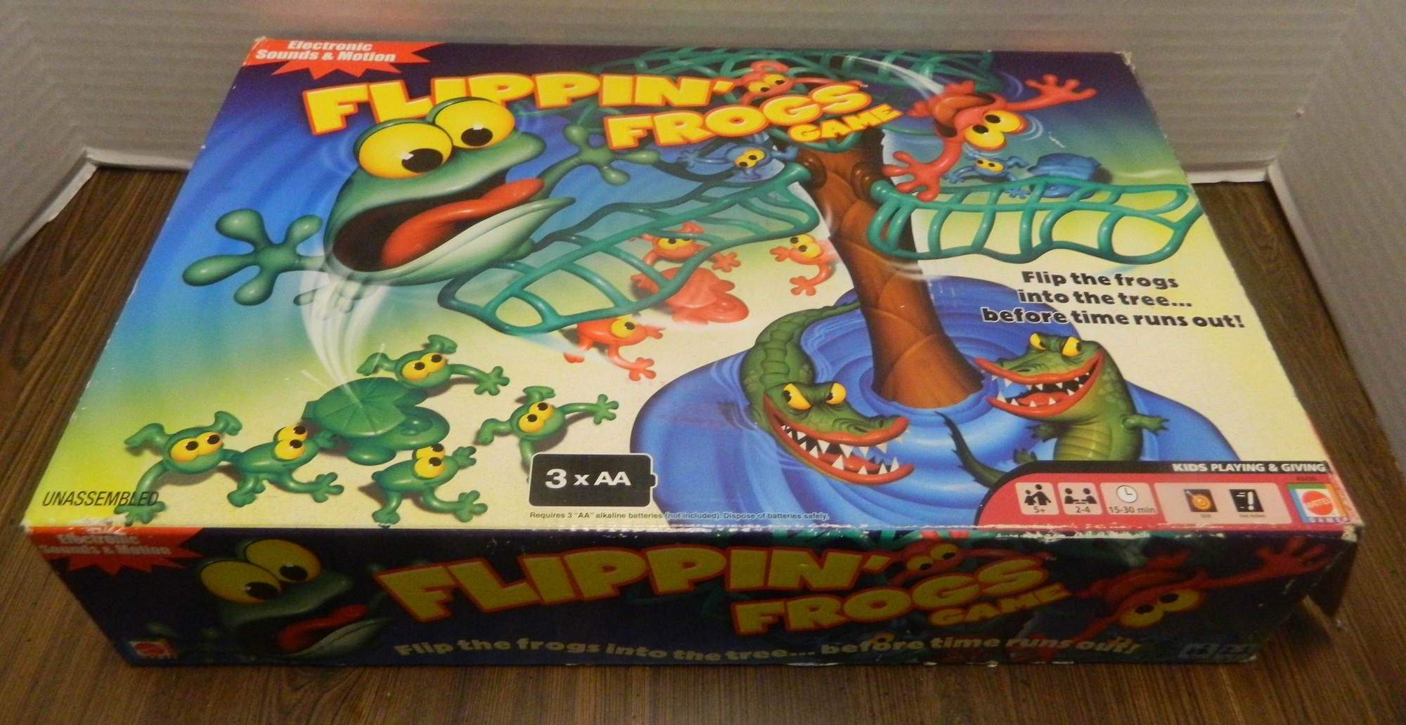Flippin/' Frogs Board Game Replacement Parts Pieces Launchers Tree Base Board Top