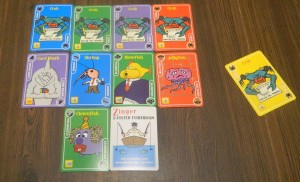 Twisted Fish Card Game Asking for a Card
