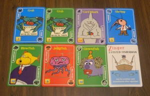 Twisted Fish Card Game Sample Hand