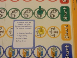 Real Dumb Laws Trivia Game Sample Question