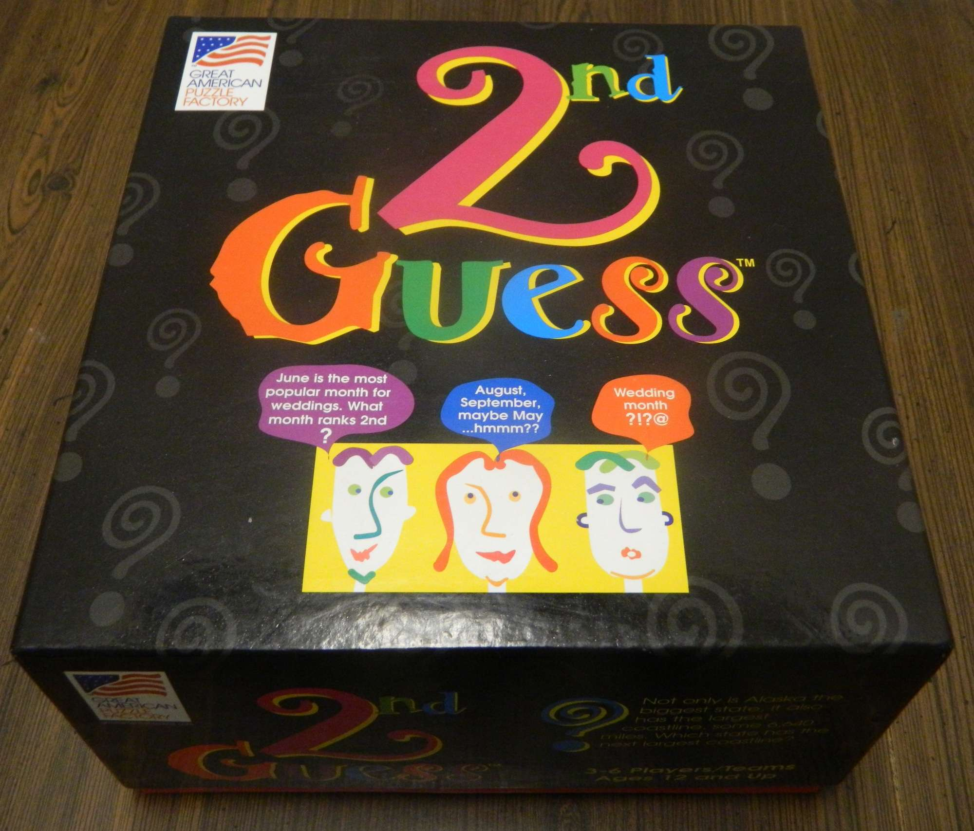 Box for 2nd Guess