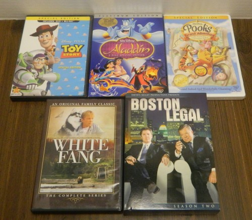 DVDs 2 Thrift Store Haul June 23