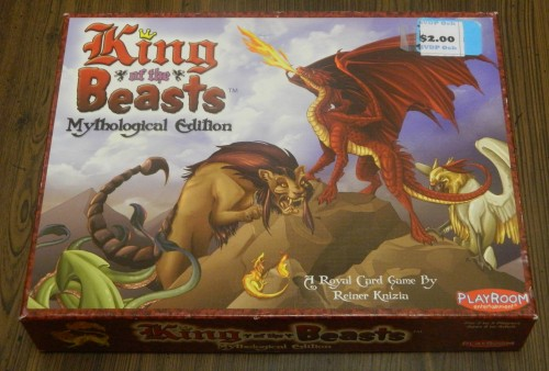 King of the Beasts Game Thrift Store Haul June 23