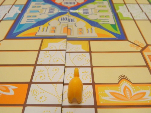 Home zone in Parcheesi