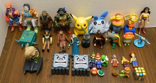 Action Figures and Toys Thrift Store Haul July 5