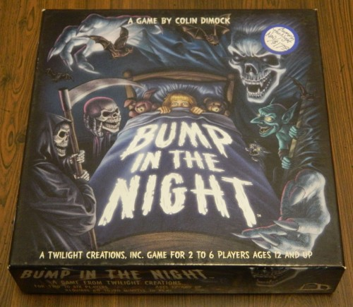 Bump in the Night Board Game Thrift Store Haul July 5