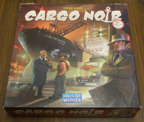 Cargo Noir Board Game Thrift Store Haul July 5