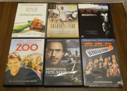 DVDs Part 1 Thrift Store Haul July 5