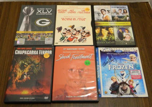 DVDs Part 2 Thrift Store Haul July 5