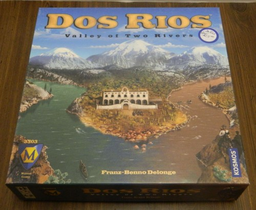 Dos Rios Board Game Thrift Store Haul July 5