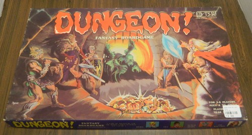 Dungeon! Board Game Thrift Store Haul July 5