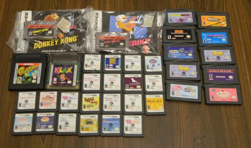 Handheld Games Thrift Store Haul July 5