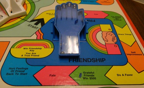 Friendship Track Happiness Game