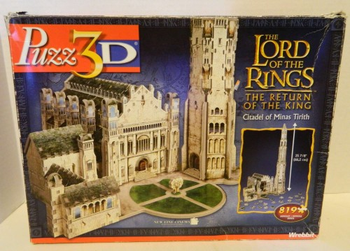 Box for the Citadel of Minas Tirith Puzz 3D Puzzle